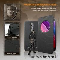 Asus Zenfone 2 ZINEQ Window Leather Flip Case Flipcase Cover Flipcover