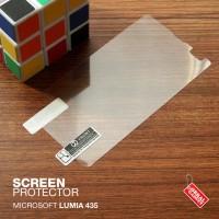 Microsoft Lumia 435 Anti Gores Antigores Screen Protector Guard Clear