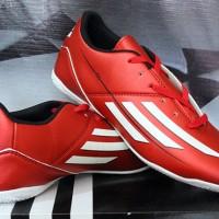 sepatu futsal,bola, Adidas Adizero F10 Merah KW Super