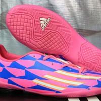 Sepatu Futsal,bola,Adidas F50 Adizero Tribal Pack Sol Pink KW Super