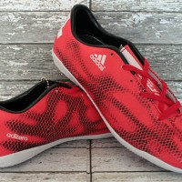 sepatu futsal,bola,Adidas Adizero F50 Anaconda Merah