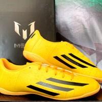sepatu futsal,bola,Adidas F5 IN Messi Gold