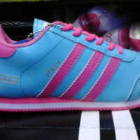 sepatu adidas italy biru lis pink murah +Box