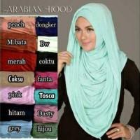jilbab instant arabian hoodie (premium)