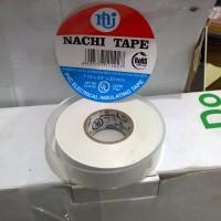 Isolasi Listrik Merek Nachi Electrical Insulating Tape White (Putih)
