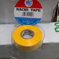 Isolasi Listrik Merek Nachi Electrical Insulating Tape Yellow (Kuning)