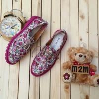 Docmart Shoes Pink Flower