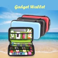 Gadget Wallet LARGE (Banyak sekat, muat powerbank, aksesoris gadget)