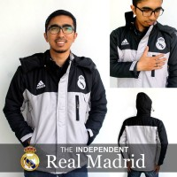 Jacket WaterProof REAL MADRID (Black-White)
