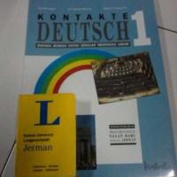 Buku Pelajaran Bahasa jerman Kontakte Deutch 1