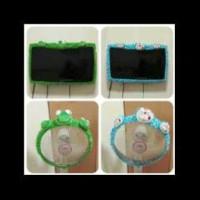 cover/bando lcd monitor tv hello kitty,doraemon dan keropi 32