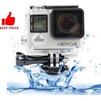 Dazzne Waterproof Housing Case For GoPro Hero 4 - DZ-307 - Black