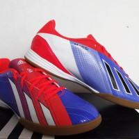 sepatu futsal,bola,Adidas F10 Messi TRX Blue/Red