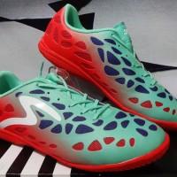 Sepatu futsal,bola,Specs Cyanide Alien Merah Tosca