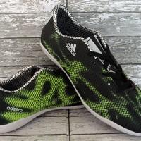 sepatu futsal,bola,Adidas Adizero F50 Anaconda Hitam Putih