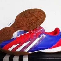 Adidas F10 Messi TRX Blue/Red (sepatu Futsal)