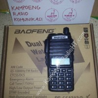 BAOFENG UV-82 (Dual Band + Dual PTT + GRATIS Earphone Dual PTT) HT