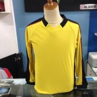 Kaos baju jersey kostum voli futsal sepakbola katun allsize kuning