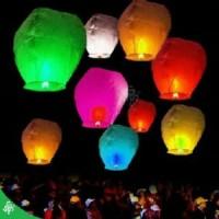 sky lantern lampion terbang