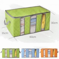 STORAGE BOX 65 liters bamboo charcoal clothing boxes