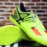 Adidas Adizero Messi 2015 Green (Sepatu Futsal KW Super)