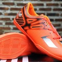 Adidas Adizero Messi 2015 Orange (Sepatu Futsal KW Super)