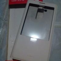 Leather Case Huawei Ascend Mate 7 ORI - Putih