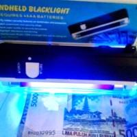 Money Detector UV PORTABLE / Lampu Alat Tester Deteksi Uang Palsu Lamp