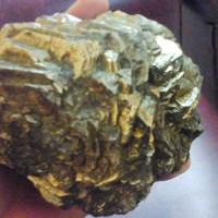 Bongkahan Batu Badar Emas