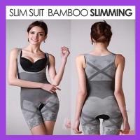 NATURAL BAMBOO SLIMMING SUIT/BAMBOO CHARCOAL SLIMMING/BAJU PELANGSING