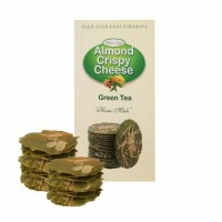 Almond Crispy Cheese Wisata Rasa Rasa Green Tea