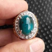 Batu Bacan Doko Semi Kristal Size Kantoran - JK025