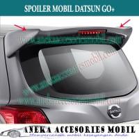 Spoiler Mobil Datsun Go+ (plus) Panca warna Reddish Gold