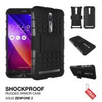 Asus Zenfone 2 Rugged Shockproof Armor Hybrid Hard Case & Soft Case
