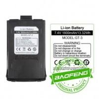 Battery Baofeng GT3 GT3TP GT-3TP Mark2 Mark3 Baterai Batere Original