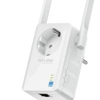 TP-LINK TL-WA860RE 300Mbps WiFi Range Extender dengan AC passthrough