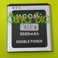 Baterai Battery Cross Evercoss A5P* Double Power