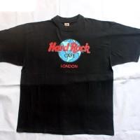 Kaos / T-Shirt Hard Rock Cafe London Original