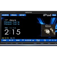 DVD/VCD/MP3/CD/USB Player dengan Layar 7-inch, Alpine IVA-W520E
