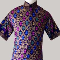 baju batik pria motif songket BP 111