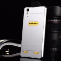 Lenovo A6000 Bumper Aluminium + Back Cover Case