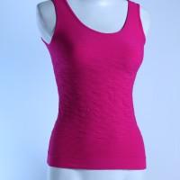 Atasan Senam/Baju Senam/Jaring Singlet Motif/Baju Jaring/Baju Yoga