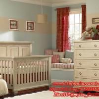 baby set bed / tempat tidur / ranjang / ayunan / crib / box bayi kayu