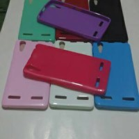 silikon backcase lenovo A6000 ( case softcase silikon )