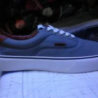 murah sepatu vans era biru muda jeans (ifc)+ box