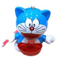 Electric Bubble Doraemon / Mainan tiup balon sabun elektrik