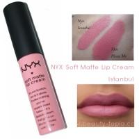 NYX soft matte lip cream Istanbul 06