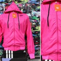 Jaket Nike Magenta Parasut(jaket,sweater,blazer,parasut,sekolah,sport)