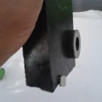 Bahan/Rough Black Jade Aceh Tembus dan Nempel Magnet