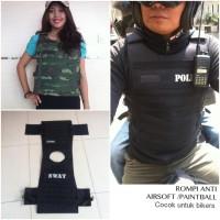 Rompi anti peluru airsoft / paintball army
